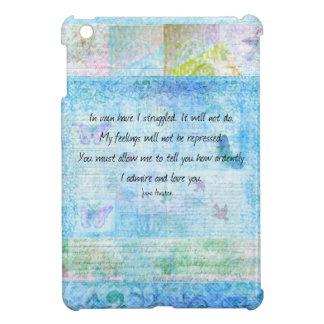 Jane Austen Pride and Prejudice Quote iPad Mini Cover