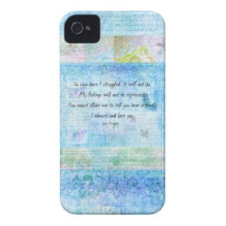 Jane Austen Pride and Prejudice Quote iPhone 4 Case-Mate Cases