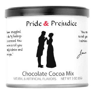 Jane Austen Pride & Prejudice Hot Chocolate Mix