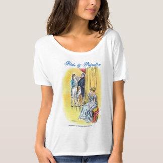 Jane Austen Pride & Prejudice Quote T-shirt