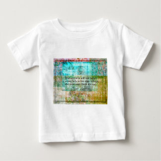 Jane Austen quote about adventure and travel Baby T-Shirt