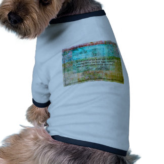 Jane Austen quote about adventure and travel Doggie Tee