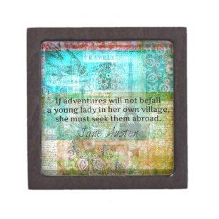 Travel Quotes Gift Boxes Keepsake Boxes Zazzle