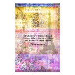 Jane Austen quote about adventure and travel Stationery