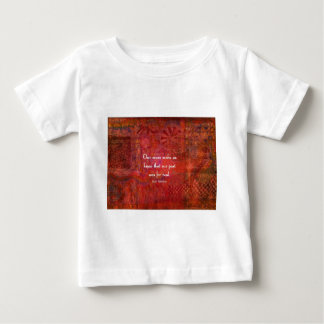 Jane Austen quote about life experiences Baby T-Shirt