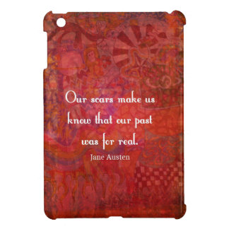 Jane Austen quote about life experiences Cover For The iPad Mini