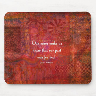 Jane Austen quote about life experiences Mouse Pads