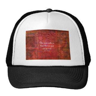 Jane Austen quote about life experiences Trucker Hat