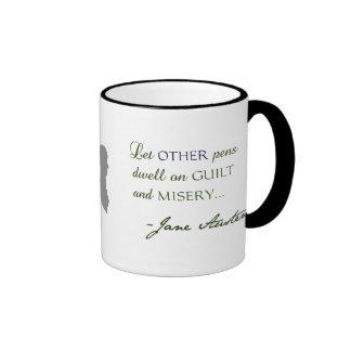 Jane Austen Quote Austen Variations Mug