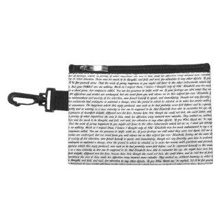 Jane Austen Quotes Accessory Bag