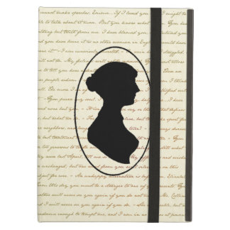 Jane Austen Quotes and Portrait Cover iPad Air Cover