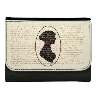 Jane Austen Quotes and Portrait Medium Style Wallets