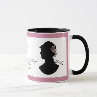 "Jane Austen ""Refreshment"" Mug"