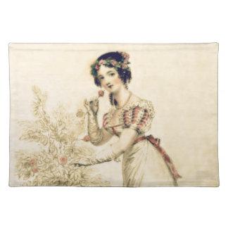 Jane Austen Regency Ball Gown Placemats