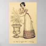 Jane Austen Regency Ball Gown Posters