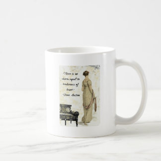 Jane Austen Regency Inspired Design Classic White Coffee Mug