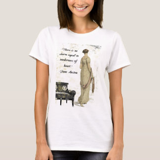 Jane Austen Regency Inspired Design T-Shirt