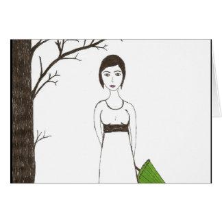 Jane Austen rice Card