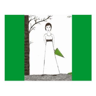 Jane Austen rice Postcard