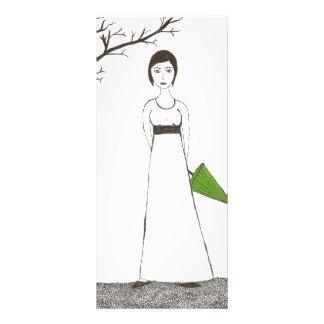 Jane Austen rice Rack Card