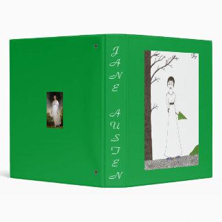 Jane Austen Rice rice painting Binder
