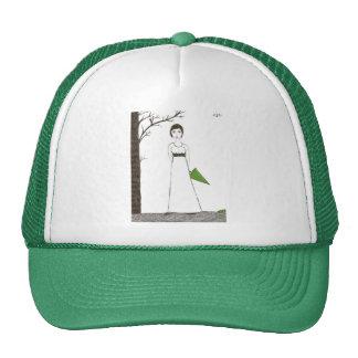 Jane Austen rice Trucker Hat