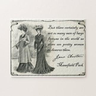Jane Austen: Rompecabezas bonito de las mujeres