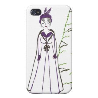 Jane Austen s Creepy Christmas iPhone 4/4S Case