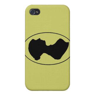Jane Austen s Silhouette iPhone 4 Cases