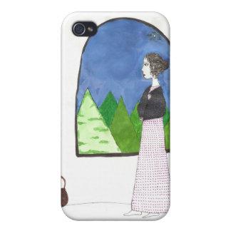 Jane Austen s Window iPhone 4 Case