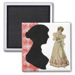Jane Austen saves Refrigerator Magnet