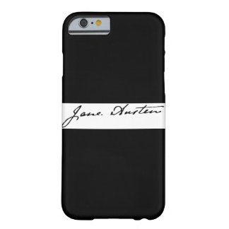 Jane Austen Signature Barely There iPhone 6 Case