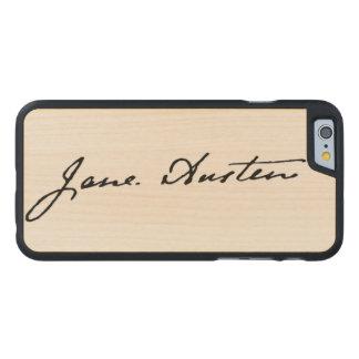 Jane Austen Signature Carved® Maple iPhone 6 Case