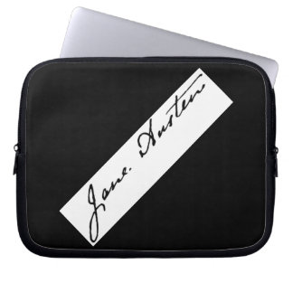 Jane Austen Signature Computer Sleeve