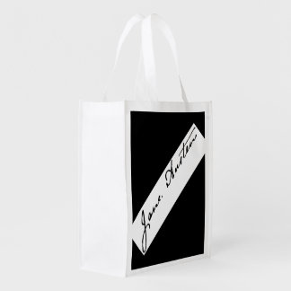 Jane Austen Signature double-sided Grocery Bag