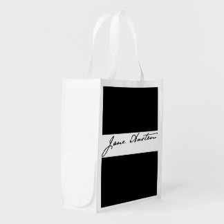 Jane Austen Signature Grocery Bag