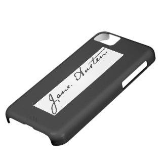 Jane Austen Signature iPhone 5C Cases