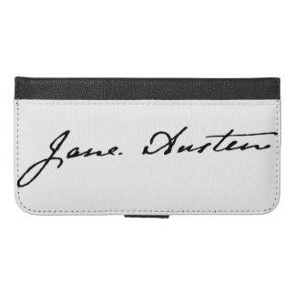 Jane Austen Signature iPhone 6/6s Plus Wallet Case