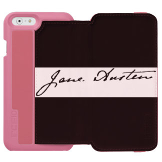 Jane Austen Signature iPhone 6/6s Wallet Case