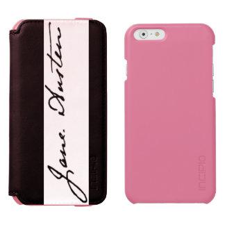 Jane Austen Signature iPhone 6/6s Wallet Case