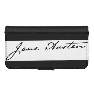 Jane Austen Signature iPhone SE/5/5s Wallet Case