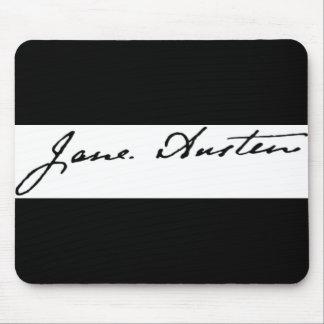 Jane Austen Signature Mouse Pad
