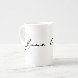 Jane Austen Signature Tea Cup