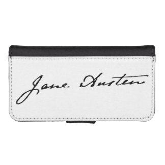 Jane Austen Signature Wallet Phone Case For iPhone SE/5/5s