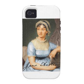 Jane Austen Signed Portrait iPhone 4/4S Cases