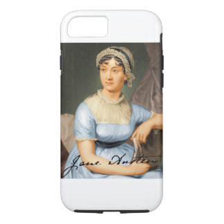 Jane Austen Signed Portrait iPhone 8/7 Case