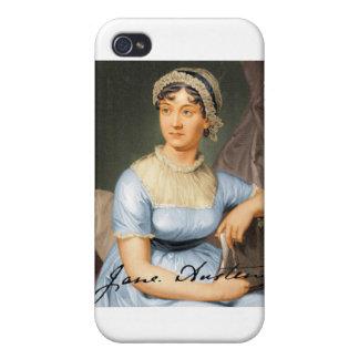 Jane Austen Signed Portrait iPhone 4/4S Case
