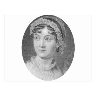 Jane Austen Simply Jane Portrait Postcard