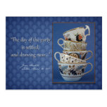 Jane Austen Tea Party Invitation Postcards