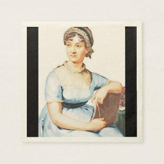 Jane Austen Theme Paper Napkins
